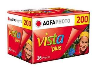 🚚 Agfa Vista200底片 36張135mm 彩色負片