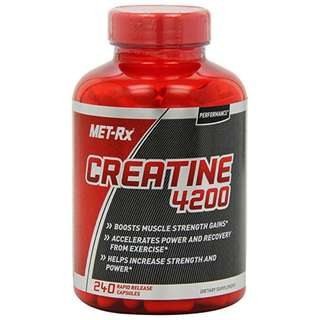 [IN-STOCK] MET-Rx® Creatine 4200 - 240 count