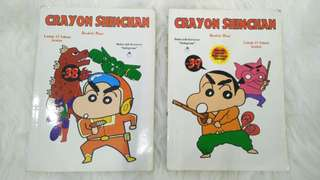 Komik Shinchan Vol. 38-39