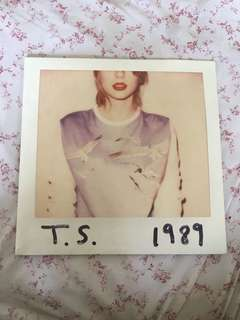 Taylor Swift 1989 Vinyl LP