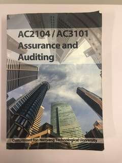 🚚 AC2104 Assurance and Auditing