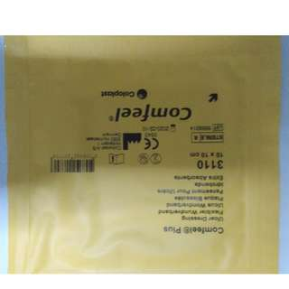 Coloplast Comfeel Plus Ulcer Dressing 10x10cm.