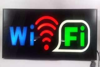 Led wifi signage