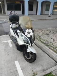 Cheap2 Negotiable Kymco Downtown Scooter 300 COE Nov 2020 Renewable