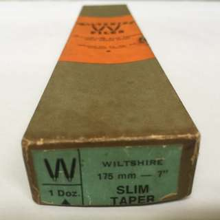 "[Collectible] Wiltshire 175mm / 7"" Slim Taper File  (Made in Australia)"