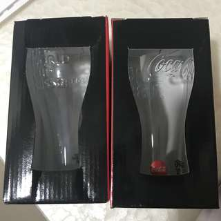 Coca Cola Coke Glass PAIR WorldCup Russia