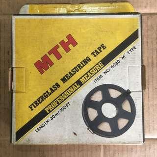 MTH Fiber Glass Measuring Tape 30m / 100ft