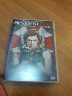 Resident Evil- the final chapter