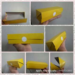 Customized diagonal box