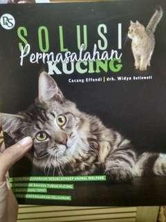 #carouhb Buku Permasalahan Kucing Cat Book Petunjuk Pemeliharaan Hewan