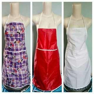 celemek apron baju masak