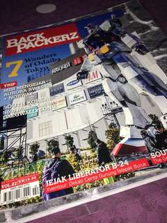 Backpackerz magazine