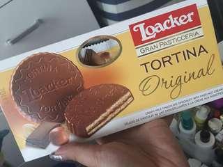 (現貨)澳洲Loacker 朱古力餅 Original