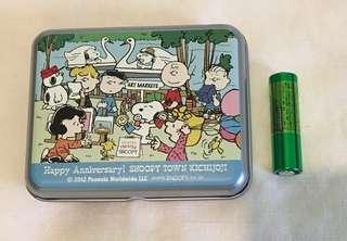 Snoopy peanuts 小鐵盒