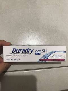 Duradry wash deep cleaning and deodorizing