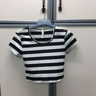 Kitschen Stripes Crop Top