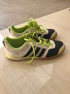 Adidas Salacetto - futsal - Ganteng - kondisi 85% - Kuras gudang