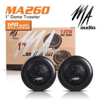 MA AUDIO MA-260 120W Titanium Dome Tweeter