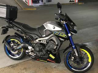 Yamaha MT-09/ MT09 2014 (2015model)