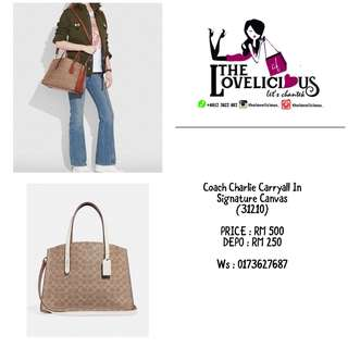 Charlie Carryall In Signature Canvas 31210