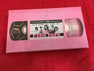 F(x) pink tape 專輯