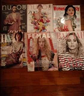Her World, Female, Nuyou, Women's weekly magazines