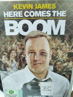 Here comes the boom movie dvd