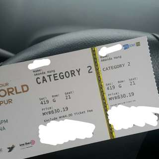 [WTS] WANNA ONE IN KL CAT 2