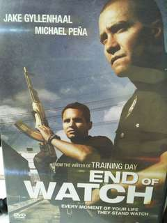 End of watch movie DVD
