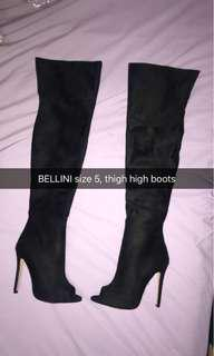Bellini thigh boots