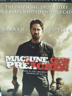 Machine gun preacher movie DVD