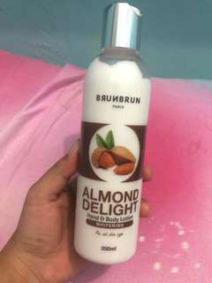 Brunbrun Almond Delight Hand & Body Lotion