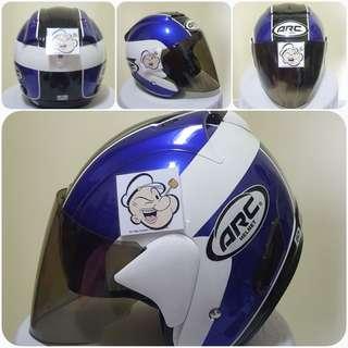 0607👀👁 ARC AR1 TIARA Helmet For Sale 😁😁Thanks To All My Buyer Support 🐇🐇 Yamaha, Honda, Suzuki