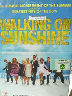 Walking on sunshine movie DVD