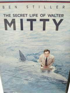 The secret life of Walter Mitty movie DVD