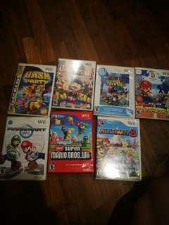 Original Wii Games