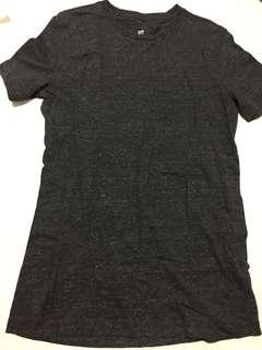 🚚 H&M unisex grey top