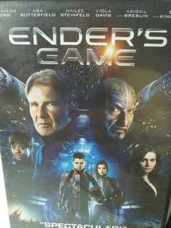 Ender's game movie DVD