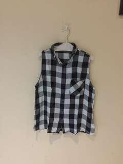 Pull and bear Checkered Shirt