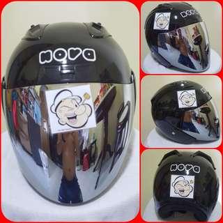 0607👁👀*** Nova Helmet For Sale 😁😁Thanks To All My Buyer Support 🐇🐇 Yamaha, Honda, Suzuki