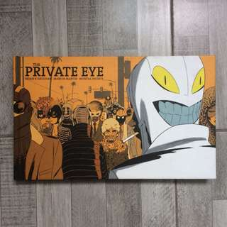 The Private Eye by Brian K. Vaughan, Marcos Martin, Muntsa Vicente