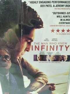 The man who knew infinity movie DVD