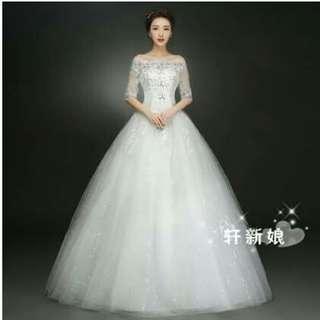 Wedding dress s-xxl