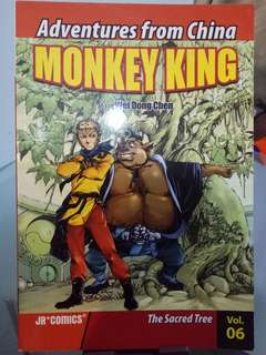 Monkey king comic
