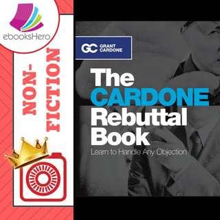 The Cardone rebuttal book