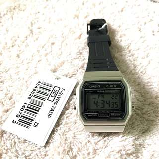 Authentic Casio Vintage Watch Silver/Black