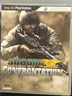 PS3 Socom Confrontation