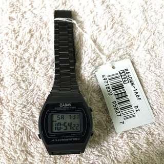 Authentic Casio Vintage Watch Black