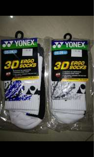 Kaos kaki badminton import singapure