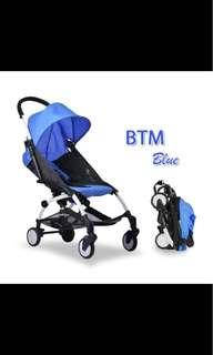 🚚 Light weight cabin size stroller pram